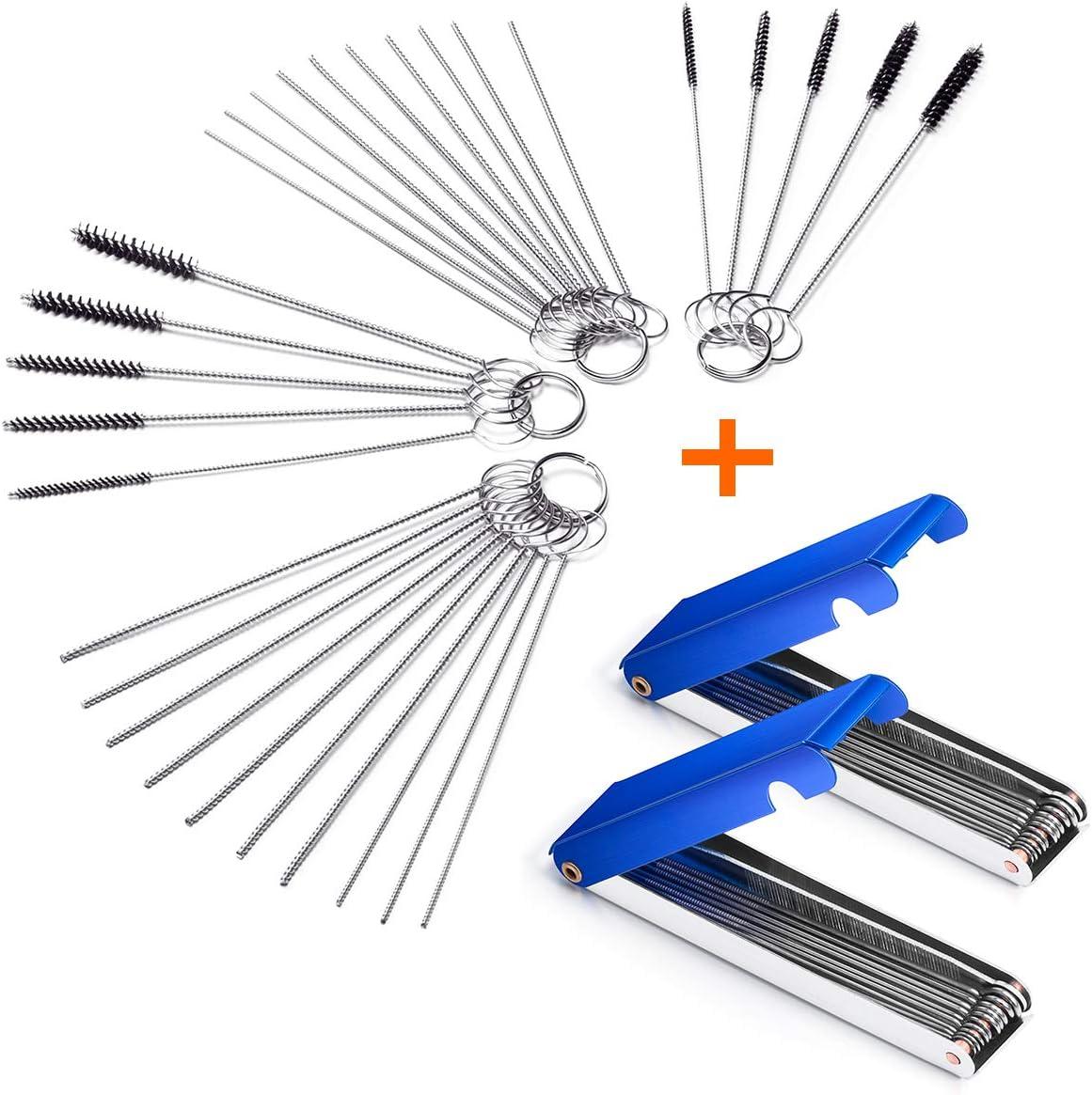 Carburetor Carbon Dirt Jet Remove Cleaning Needle Brush Tool Kits Fit Kawasaki