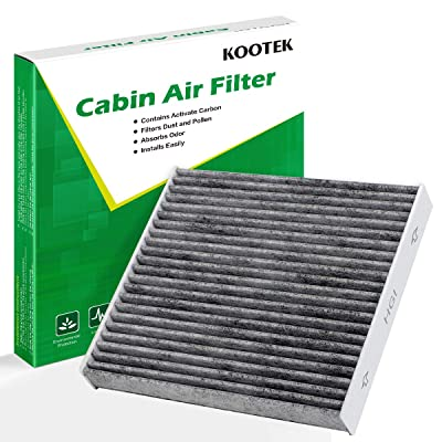 Kootek Cabin Air Filter with Activated Carbon, 1 Pack Replacement for Toyota /CF10285/CP285/TCF285/Lexus/Scion/Land Rover/Pontiac: Automotive
