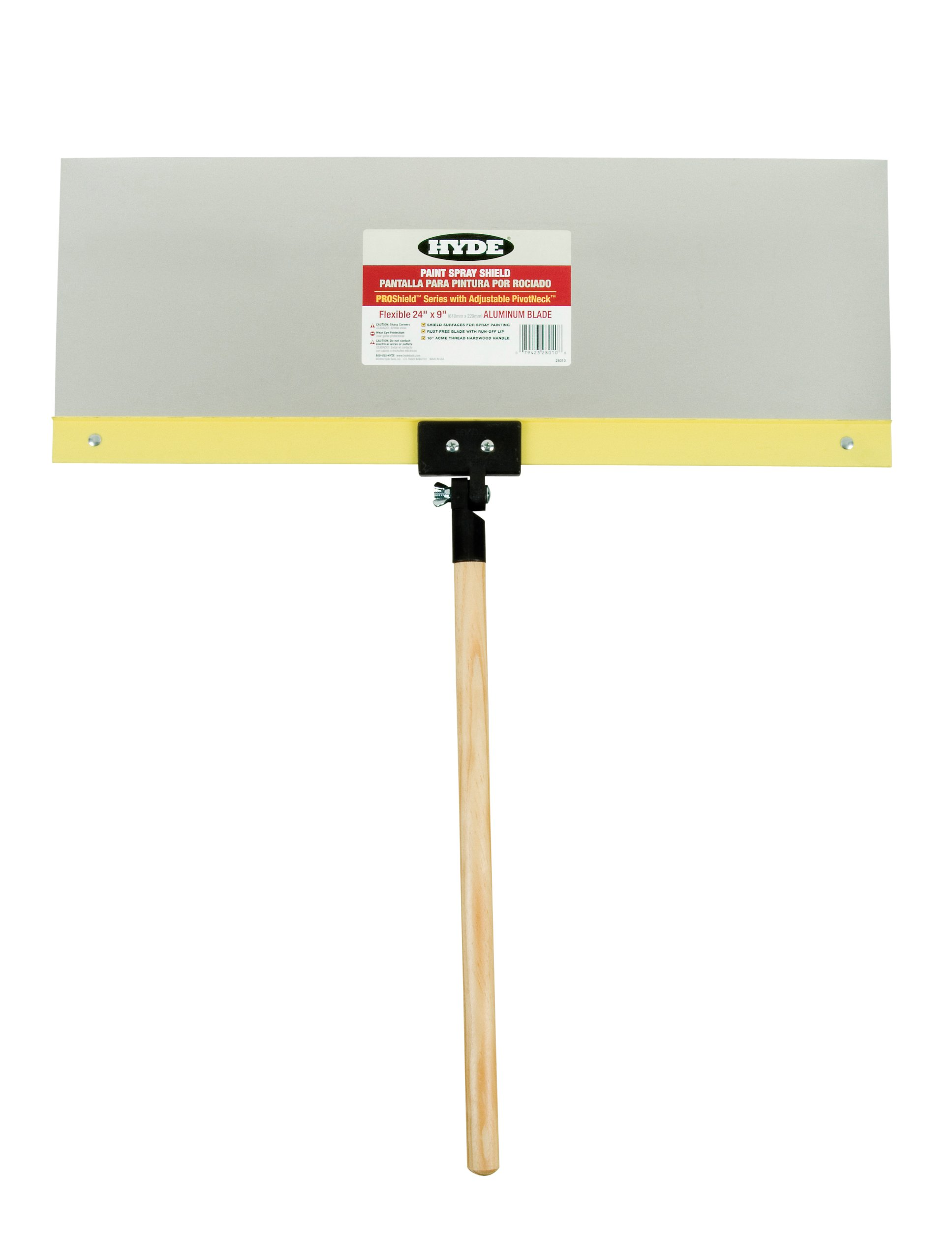 Hyde Tools 28010 24 by 9-Inch Pro Shield Flexible Aluminum Shield