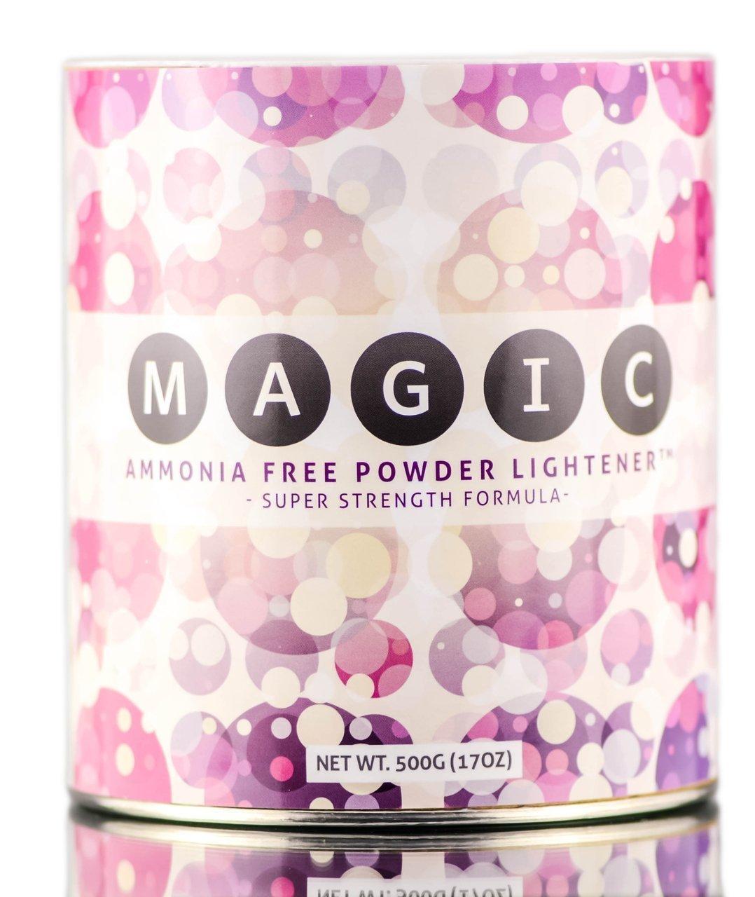 MAGIC Ammonia-Free POWDER Lightener - Super Strength Formula (500 g / 17 oz)