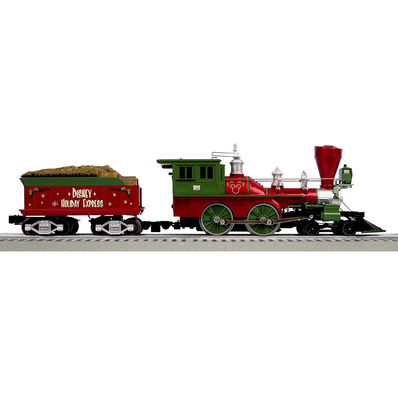 Amazon.com: Lionel Mickeys Holiday to Remember Disney Christmas Set ...