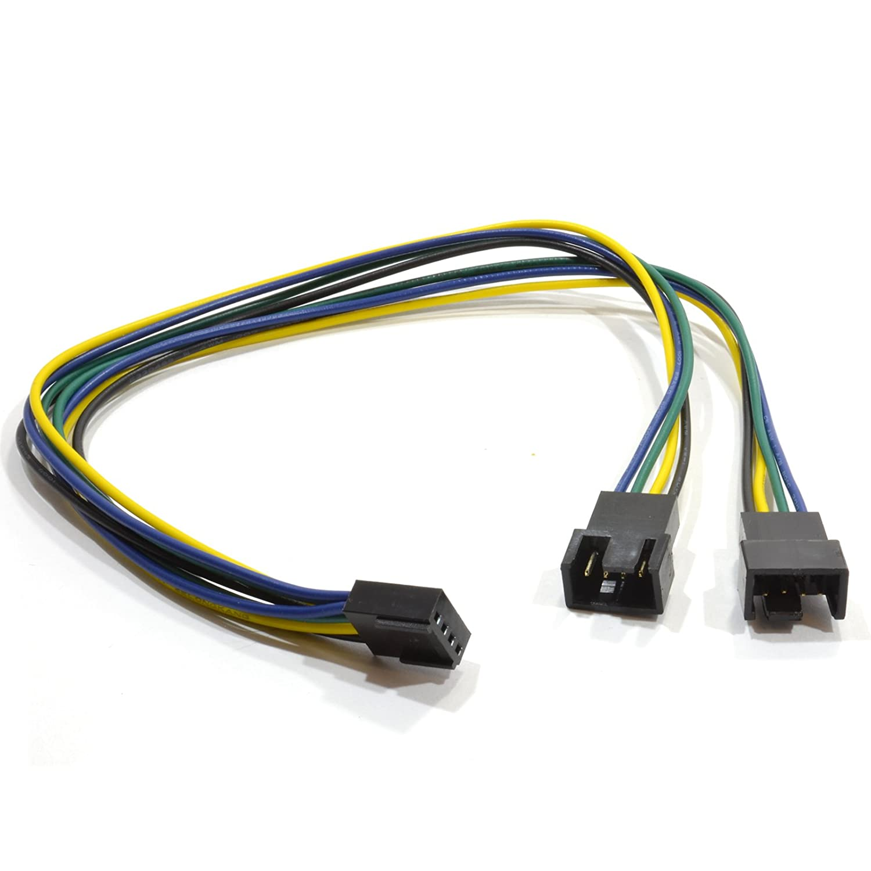 Pwm Lüfter Kabelverteiler Y-Adapter Kabel 4 Polig: Amazon.de: Elektronik