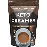360 Nutrition KETO Creamer With MCT Oil | Sweetened Coconut Sugar | Dairy Free Coffee Creamer Milk Substitute | Weight…