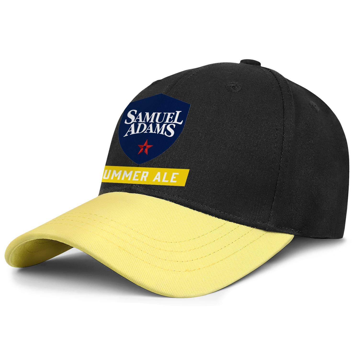 Adjustable Baseball Cap Classic Trucker Hat Cotton Ruggedcaps Men Samuel-Adams-Boston-Lager-Logo