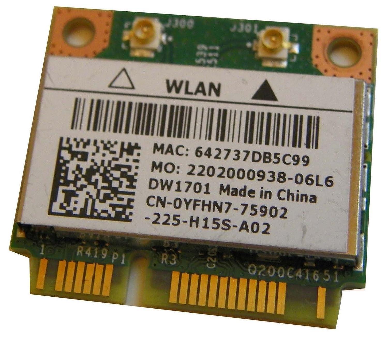 BroadCom Dell BCM94313HMGB BCM2070 BCM4313 DW1701 Wireless N Half BT WLAN Card