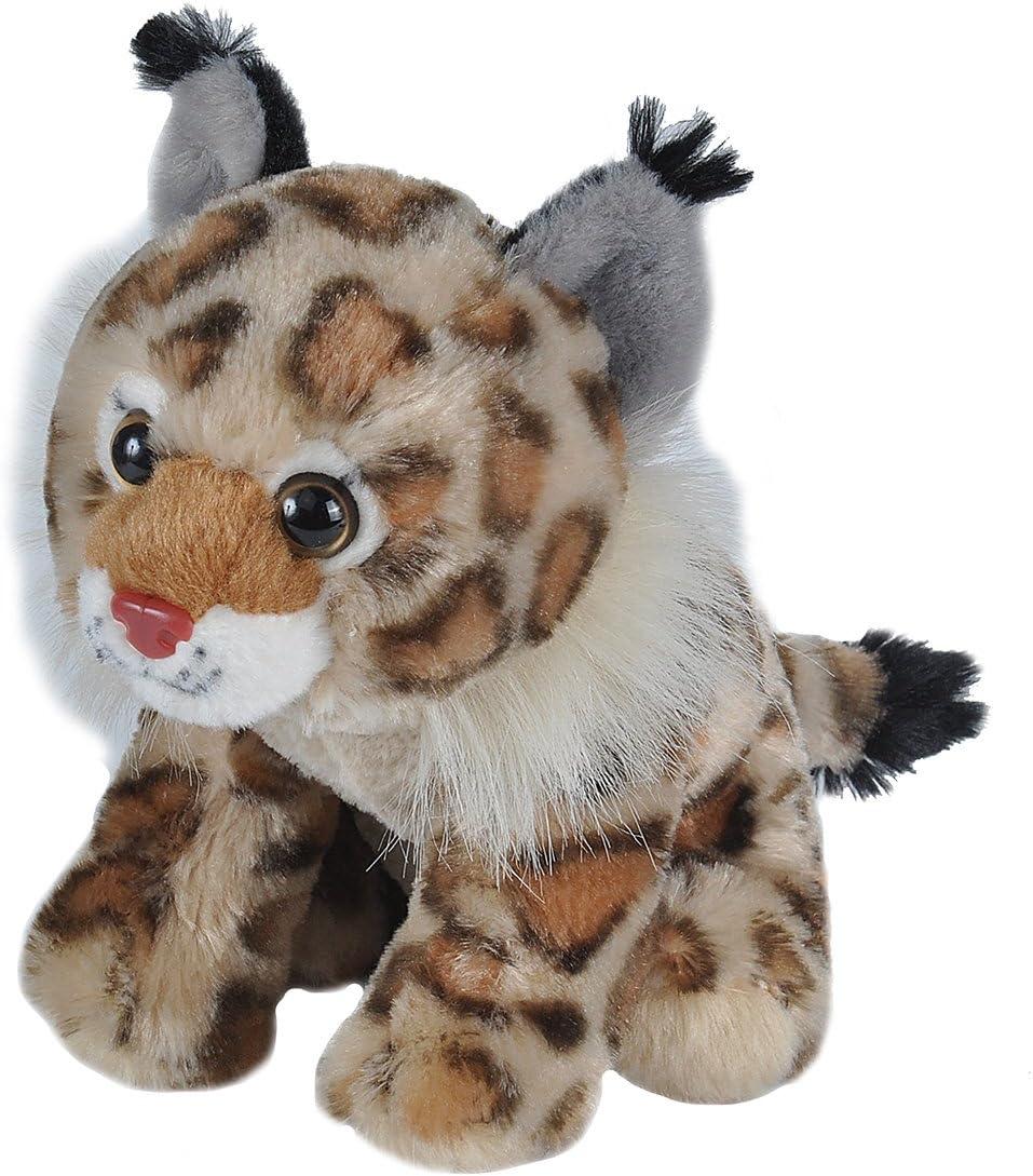 Gifts for Kids Plush Toy Cuddlekins Stuffed Animal Wild Republic Bobcat Plush 8 Inches