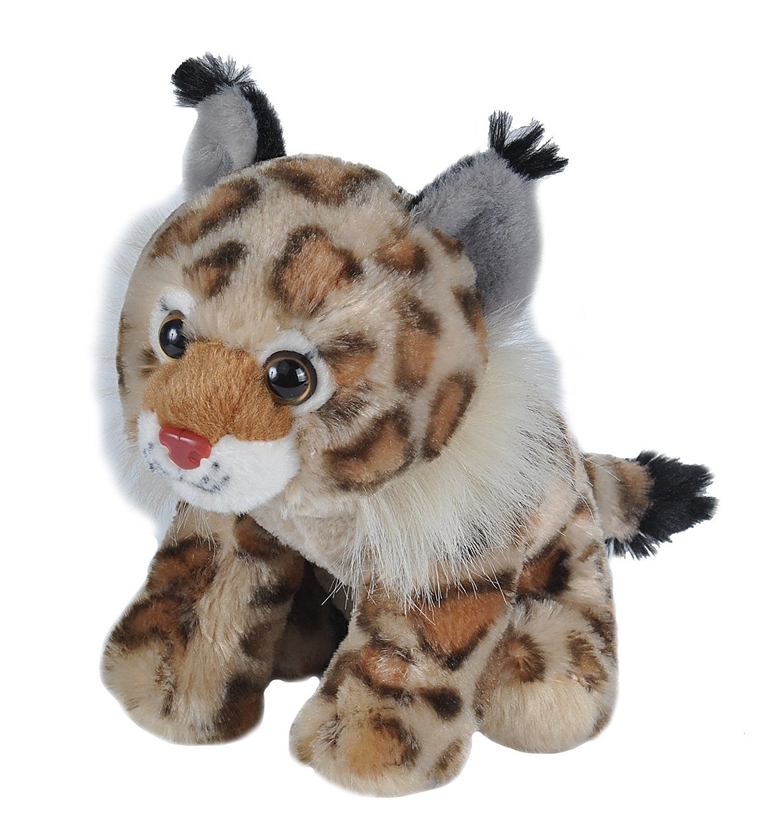 Wild Republic Bobcat Plush, Stuffed Animal, Plush Toy, Gifts for Kids, Cuddlekins 8 Inches