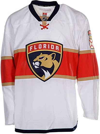 Florida Panthers Team-Issued Blank White Jersey - Size 58+ ... fa64ed05ace