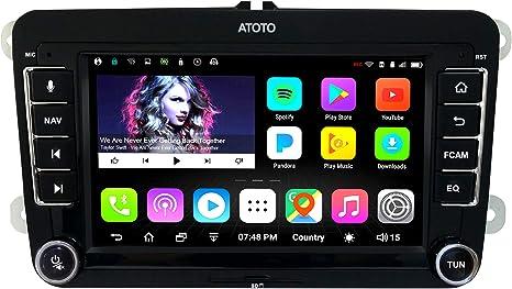 Navegación GPS para automóviles Android ATOTO A6 con Bluetooth Dual y Carga rápida: Amazon.es: Electrónica