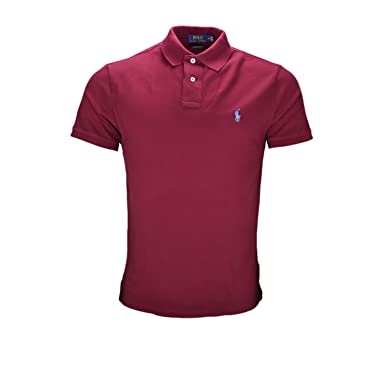 7b5bd20a92a Ralph Lauren Polo Basique Rouge Bordeaux pour Homme  Amazon.fr ...