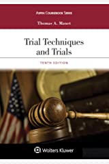 Trial Techniques and Trials (Aspen Coursebook Series) Kindle Edition