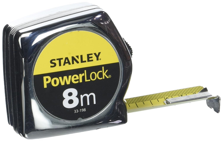 STANLEY 0-33-198 - Flexometro Powerlock Classic 8m x 25mm