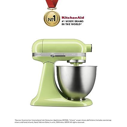 Kitchenaid Artisan Mini 5ksm3311xbhw 3 3 Litre Stand Mixer Honeydew