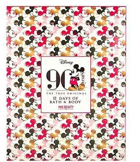 Exclusive New Disney Mickey Mouse Beauty Advent Calendar (Sold By Penta0601) by Disney Bath & Body