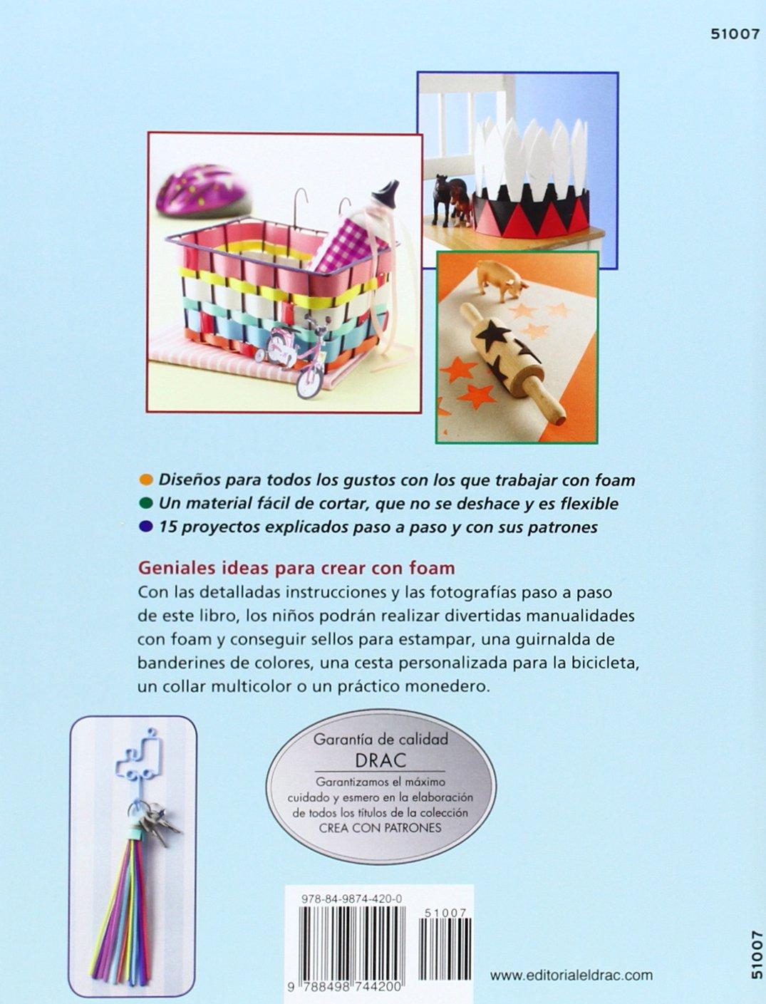 Creativas ideas realizadas con FOAM para niños: Pascale Lamm ...