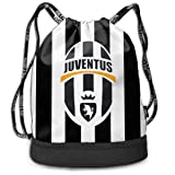 Amazon.com  LOIPNAW Juventus Drawstring Backpack ccddb020878b3