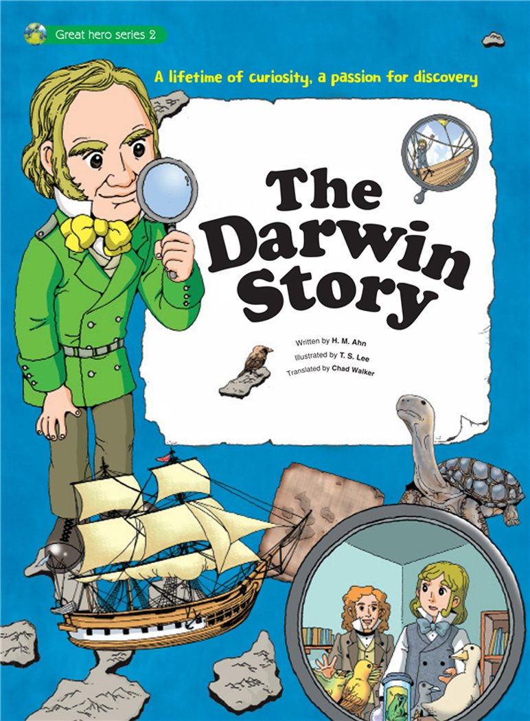 The Darwin Story: A Lifetime of Curiosity, a Passion for Discovery (Great Heroes)