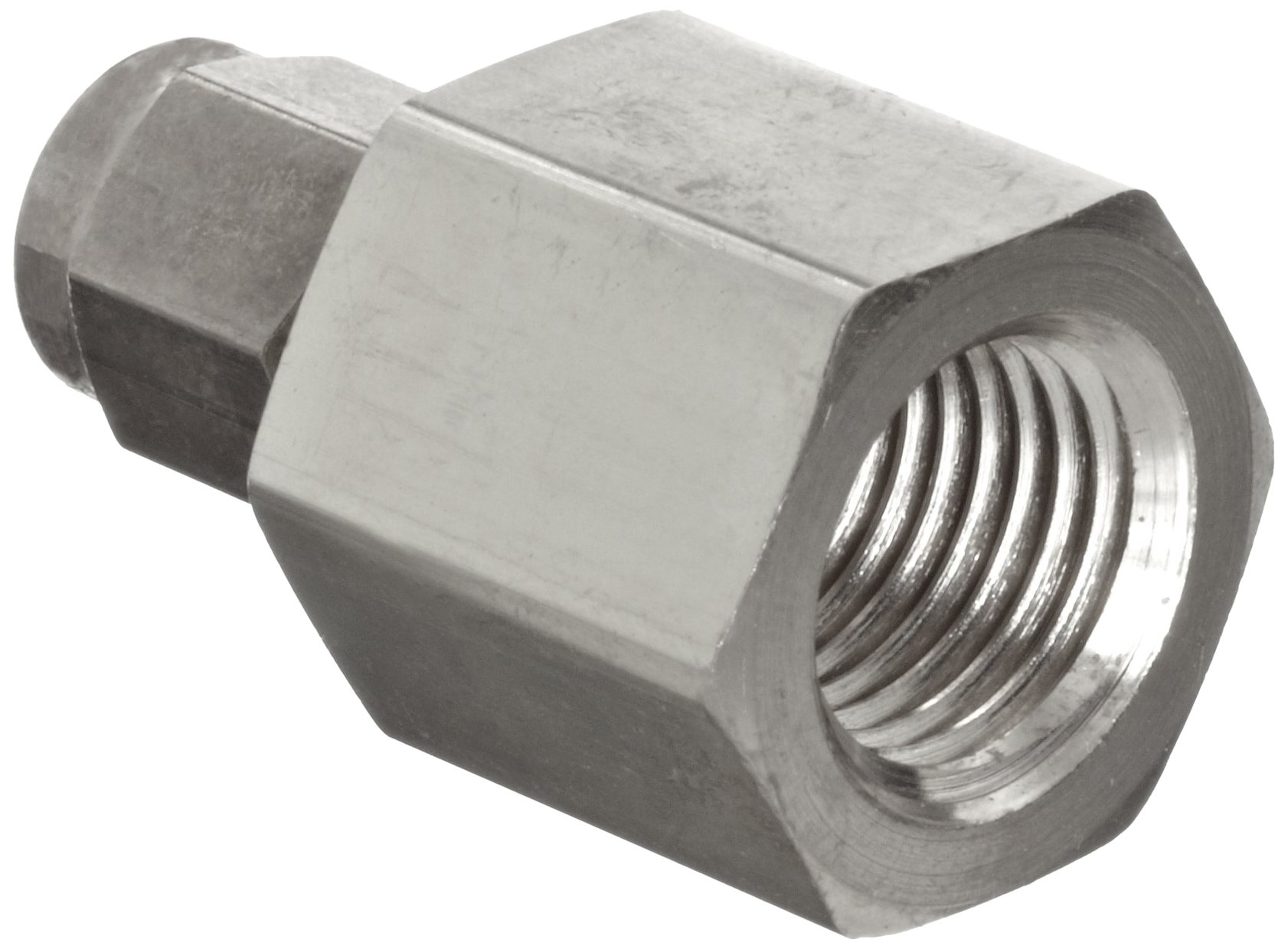 Parker A-Lok 8FSC8N-316 316 Stainless Steel Compression Tube Fitting, Adapter, 1/2'' Tube OD x 1/2'' NPT Female