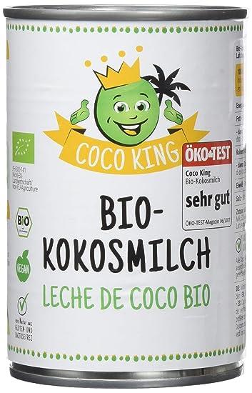 Dr. Goerg, Leche de Coco Ecológica -Pack de 6 unidades de 400ml