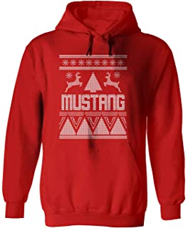 Amazoncom Mustang S197 Ugly Christmas Sweater Merry Stangmas
