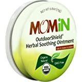 MOMiN USDA Organic Soothing Ointment, After Bug Bite or Mosquito Insect Bite Itchy Relief, Works For Small Cuts and Irritated or Inflamed Areas, 0.6 Oz