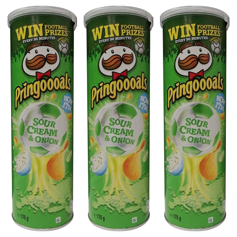 Pringooals Sour Cream & Onion - 3 Pack