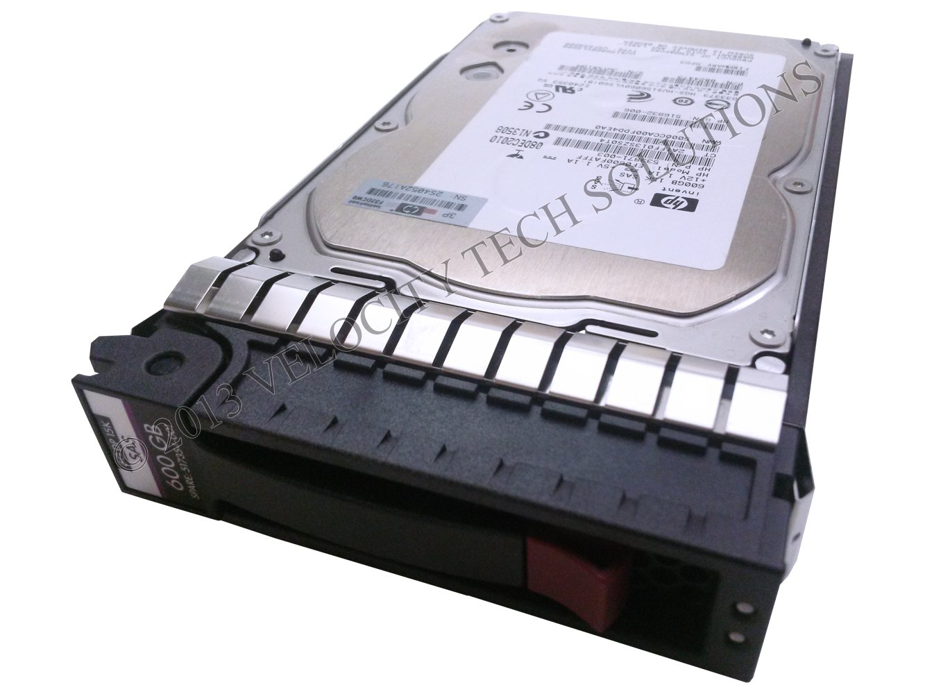 HP 517354-001 SAS Hard Drive 600GB 15K 3.5'' 6GBps Dual Port in Tray by HP