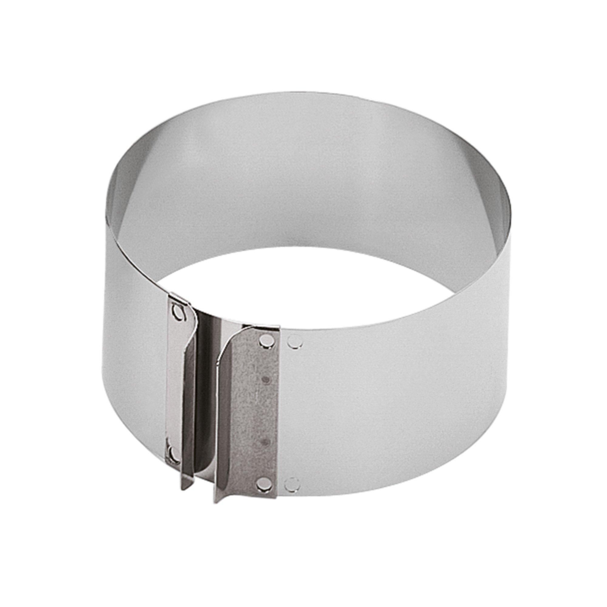 Kaiser 660615 Cake Setting Ring, 2.8'', Silver