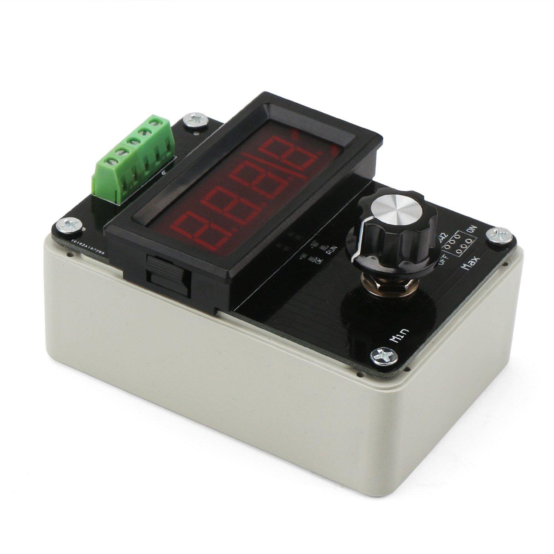 4 20ma Generator Drok Adjustable Signal Dc 0 10v Supply Voltage 20v At 1a Current Analog Simulator For Value Adjusting Plc Panel Led Testing