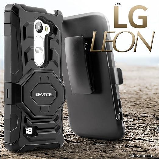 Amazon.com: evocel® LG Leon C40/LG Tribute 2 funda [Nueva ...