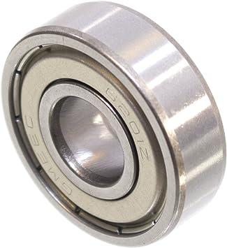 5 X Ball Bearing 32 X 12 X 10 Mm 6201 Zz 2z Metal Shield Deep Groove Ball Bearing Baumarkt