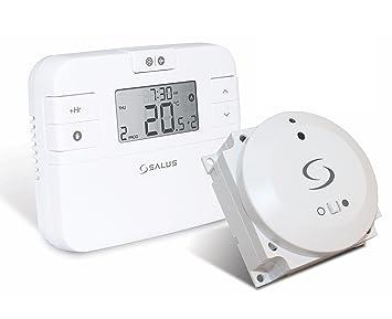 Salus RT500BC - Termostato programable con enchufe: Amazon.es: Bricolaje y herramientas