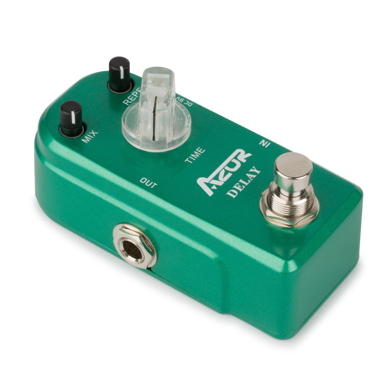 AZOR Delay Guitar Effect Pedal True Bypass Super Mini by AZOR