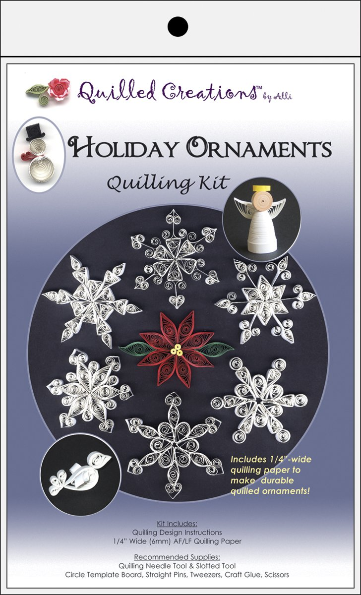 Amazon.com: Quilled Creations Holiday Ornament Kit