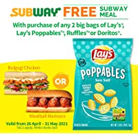 Lay's Poppables Sea Salt, 141g