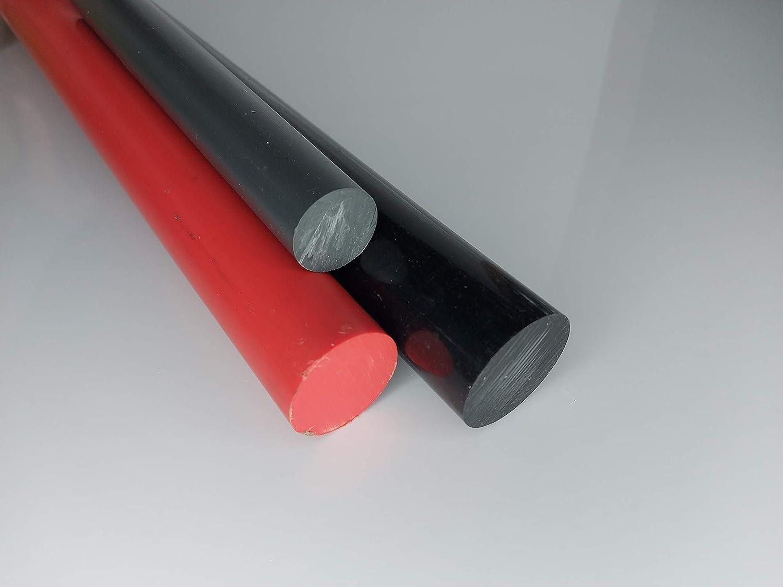POM Rundstab Rundmaterial Kunststoff ⌀ 12mm L= 500-2000mm schwarz 500 mm