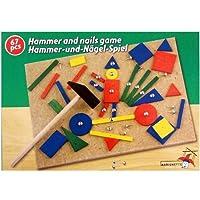 EDCO - Set chiodi e martello adatto a sviluppare la creatività nei bambini