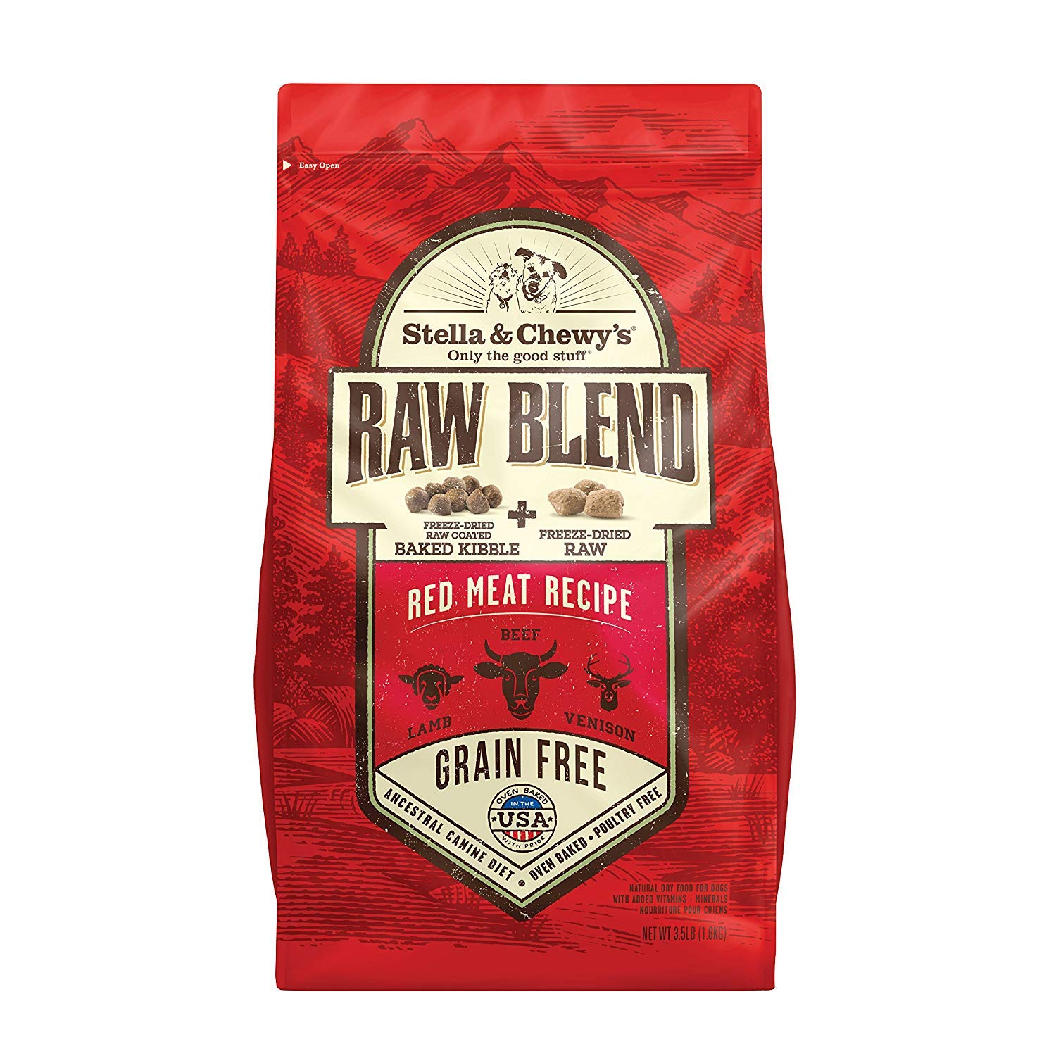 Stella & Chewy's Raw Blend Red Meat Dog Food
