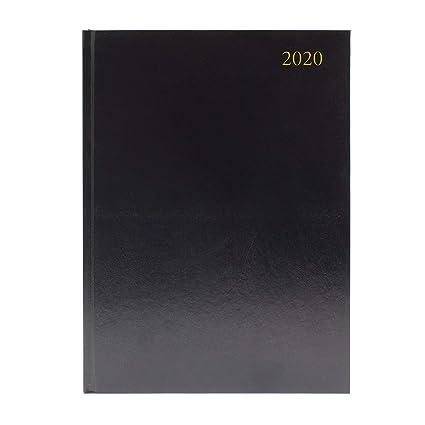 Agenda de escritorio A4, 2 páginas por día, 2020, color ...