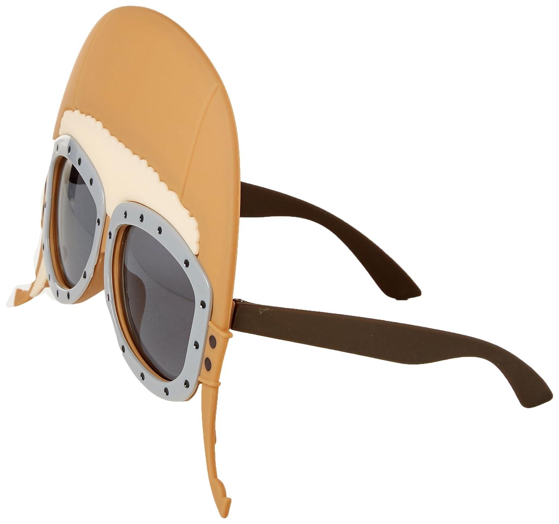 71932cfc2e3a Amazon.com: Sun-Staches Costume Sunglasses Air Pilot Goggle Party Favors  UV400: Toys & Games
