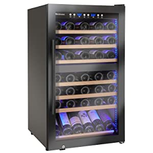 Wine Enthusiast Classic 70 Dual Zone Wine Cellar
