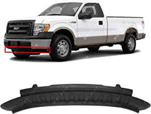 Amazon Com Mbi Auto Textured Front Lower Bumper Air Deflector Valance For 2009 2014 Ford F150 Pickup 09 14 Fo1095227 Automotive