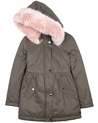 0bffd252d6bf Amazon.com  Mayoral Junior Girl s Parka Coat with Hood