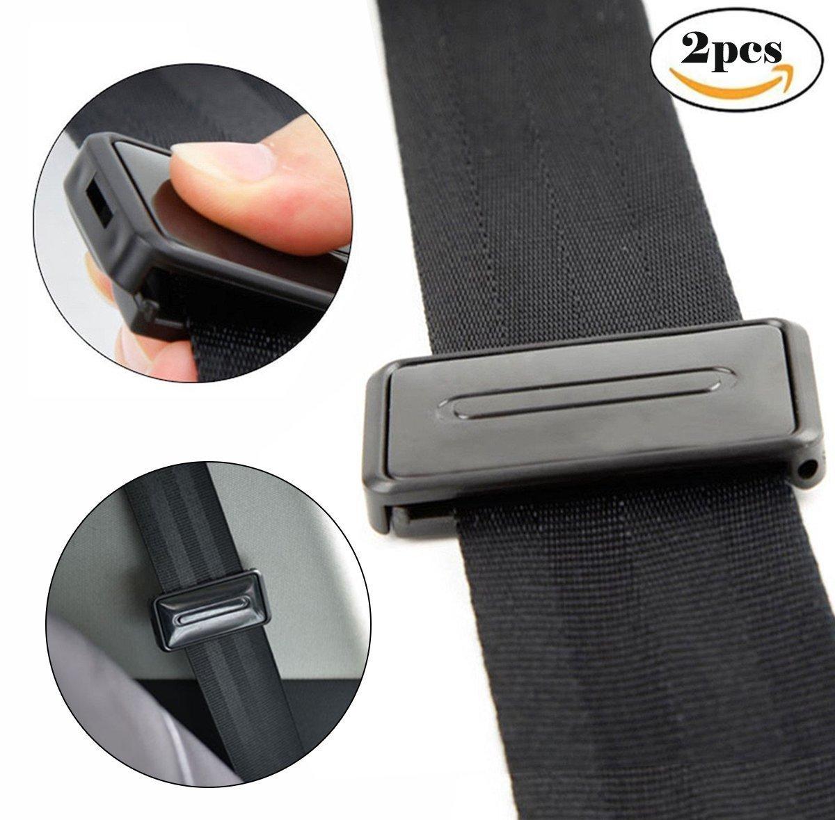 le dan una experiencia c/ómoda y segura ajuste inteligente para relajar el cuello del hombro Ajustador de cintur/ón de seguridad para el coche clips para cintur/ón de seguridad
