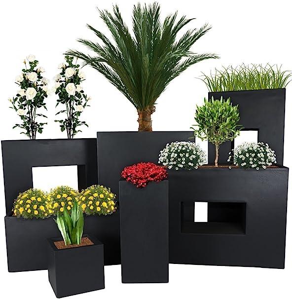 stabil 4 Ausführungen 2 Größen Pflanztöpfe Blumenkörbe Blumentöpfe