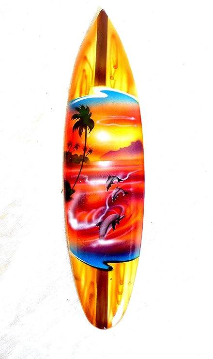Asia Diseño mniatu Tabla de Surf dekosurfb oard Surf madera onda Jinete Altura 30 cm,
