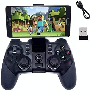 BRH Mando de Juego Bluetooth inalámbrico Gaming Controller Gamepad ...