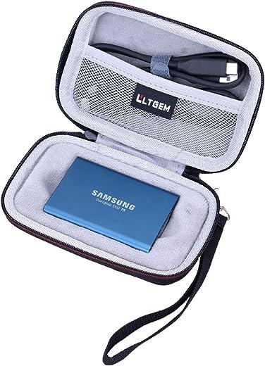 جراب LTGEM لهاتف Samsung T5/T3/T1 محمول سعة 250 جيجابايت 500 جيجابايت 1 تيرابايت 2 تيرابايت اس اس دي USB 3.1 محركات خارجية صلبة