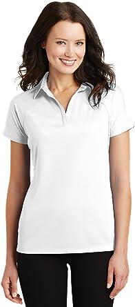 Amazon.com : Port Authority Women's Rmk Ladies Crossover Raglan ...