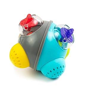 Sassy Rain Shower Bath Ball STEM Bath Toy, 6+ Months
